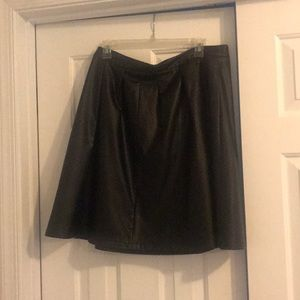 Worthington Faux Leather Skirt Size 12